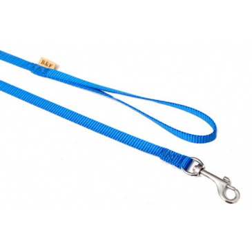 BaF Popruhové vodítko 10mm modré