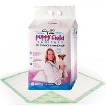 Puppy Field Sanitary Pads 25ks  90x60cm