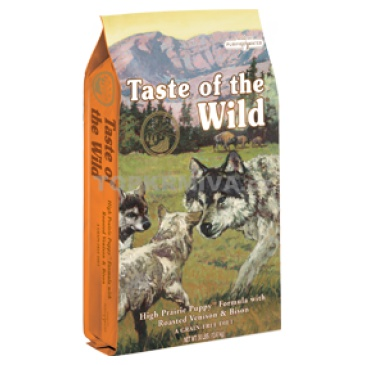 Taste of the Wild High Praire  Puppy 5,6kg
