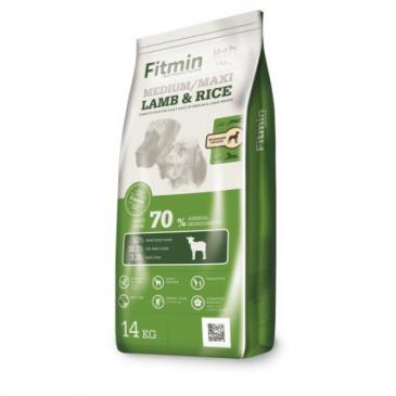 Fitmin dog medium  maxi lamb&rice 14kg