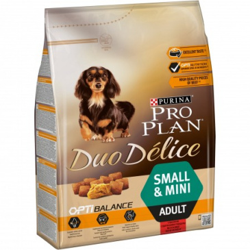 Pro Plan Duo Delice Adult Small Beef 2,5kg