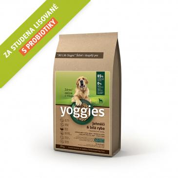 Yoggies jehněčí a bílá ryba 20kg