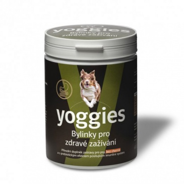 Yoggies Bylinky pro psy pro zdravé zažívání 600g
