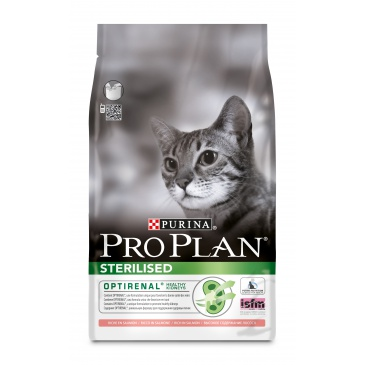 ProPlan Cat Sterilised losos 3kg