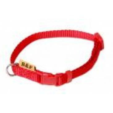 BaF Popruhový obojek 10x20-35cm červený