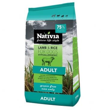 Nativia Adult Lamb&Rice 15kg