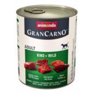 Grancarno konzerva hovězí, zvěřina  800g