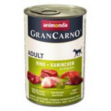 Grancarno konzerva 400g králík bylinky