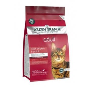 Arden Grange Cat Adult Chicken 2kg