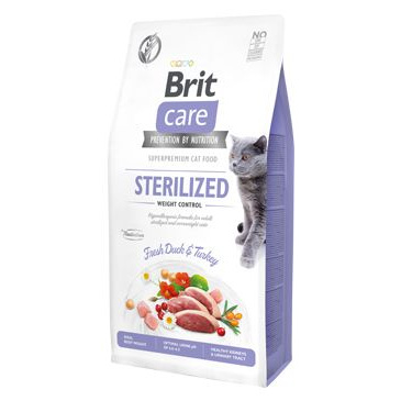 Brit Care Cat Grain-Free Sterilized Weight Control 7kg