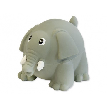 Hračka Latex Slon se zvukem 8cm