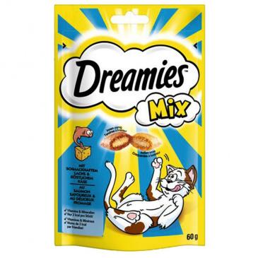 DREAMIES s lososem a sýrem 60g