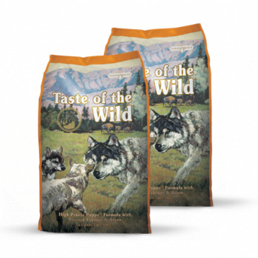 2x Taste of the Wild High Praire Puppy 12,2 kg