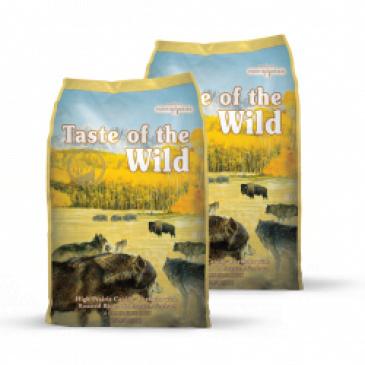 2x Taste of the Wild High Praire 13kg