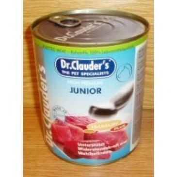 Dr. Clauder konzerva 800g Junior