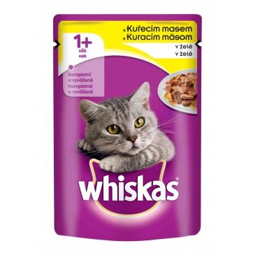 Whiskas kapsička 100g Kuřecí v želé