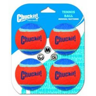 Hračka Tenis míč Chuckit 4ks M