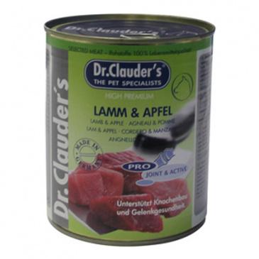 Dr. Clauder konzerva 800g Lamm+Apfe