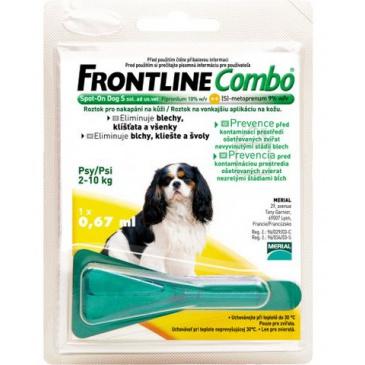 Frontline Combo Spot on Dog  S