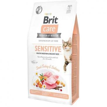 Brit Care Cat grain free Sensitive 7kg