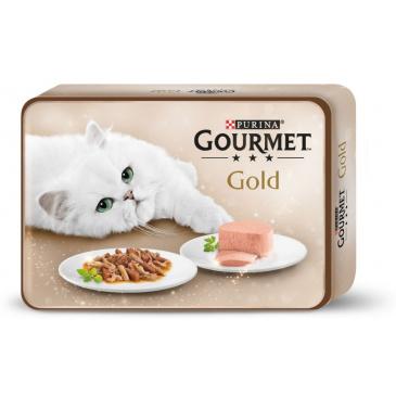 Gourmet Gold dárková dóza 12x85g (konzervy)