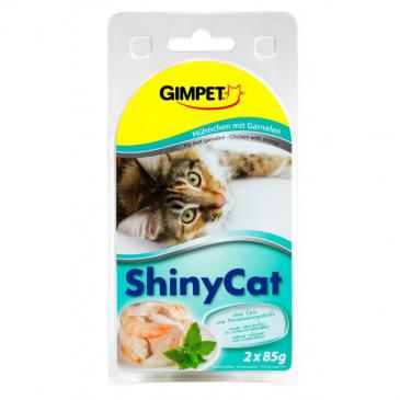 Shiny CAT kuře + krevety 2 x 70 g