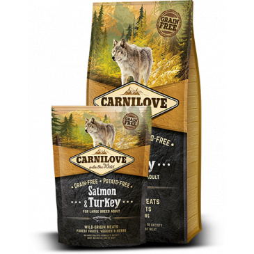 Carnilove Salmon & Turkey for large breed 12kg