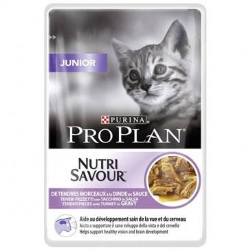 ProPlan Cat kapsička junior krůta 85g