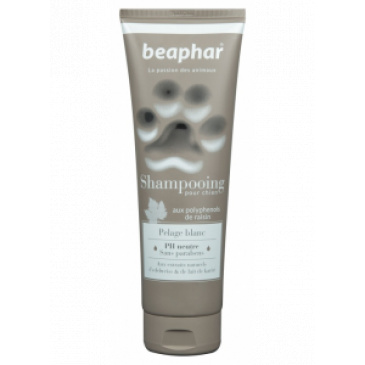 Šampon Beaphar pro bílou srst 250ml