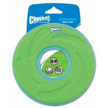 Létající a plovoucí talíř Chuckit Zipflight M zelený