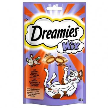 DREAMIES s kuřecím a kachnou 60g