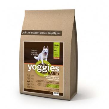 Yoggies BARF+ příloha k syrovému masu, lisovaná za studena 20kg
