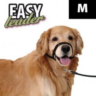 Náhubek easy leader černý M