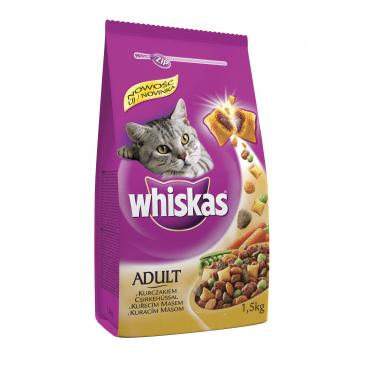 Whiskas granule kuřecí 1,4kg