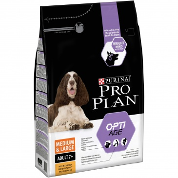 Pro Plan Medium&Large Adult 7+ 3kg optiage kuře