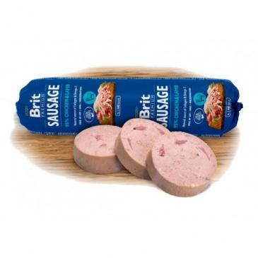 Brit Sausage 800g kuře+jehně