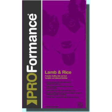 PROFormance Lamb rice 15kg