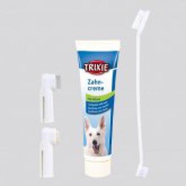 Trixie Sada zubní péče kartáčky+pasta