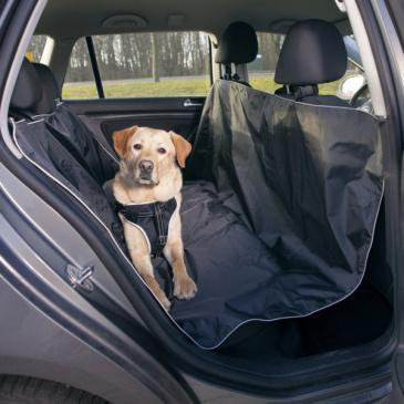 Autopotah na zadní sedadlo, černý 1,45 x 1,60 cm Trixie