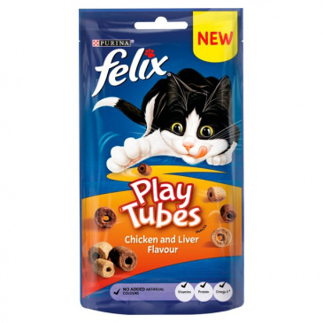 FELIX Play Tubes chicken & liver 50g