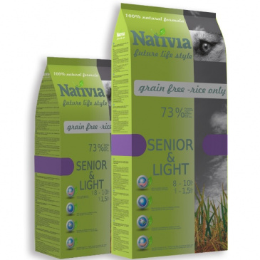 Nativia Senior, Light 3kg