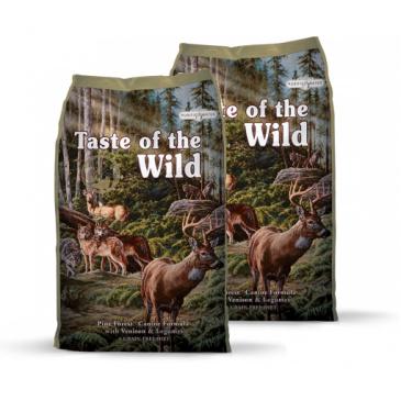 2x Taste of the Wild Pine Forest 12,2 kg