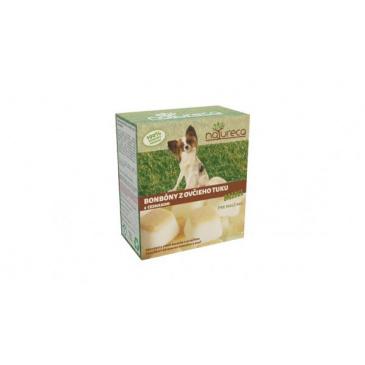 NATURECA - MINI bonbóny z ovčího tuku - česnek 250 g