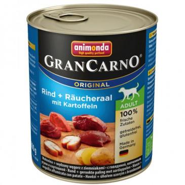 Grancarno konzerva uzený úhoř + brambory 800g