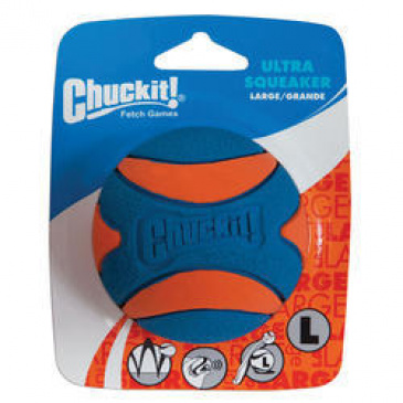 Hračka Chuckit Ultra Squeaker ball Large 7,5cm - pískací
