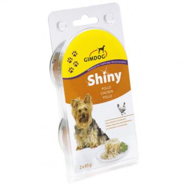 Shiny Dog konzerva 2 x 85 g kuře