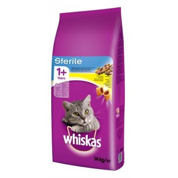 Whiskas Sterile 14kg