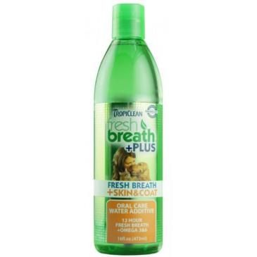 Tropiclean Water Additive Skin & Coat - 473 ml