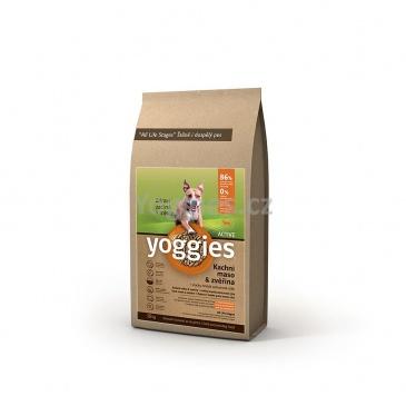 Yoggies Active Kachna a zvěřina 20kg