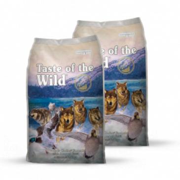 2x Taste of the Wild Wetlands Wild Fowl 12,2 kg